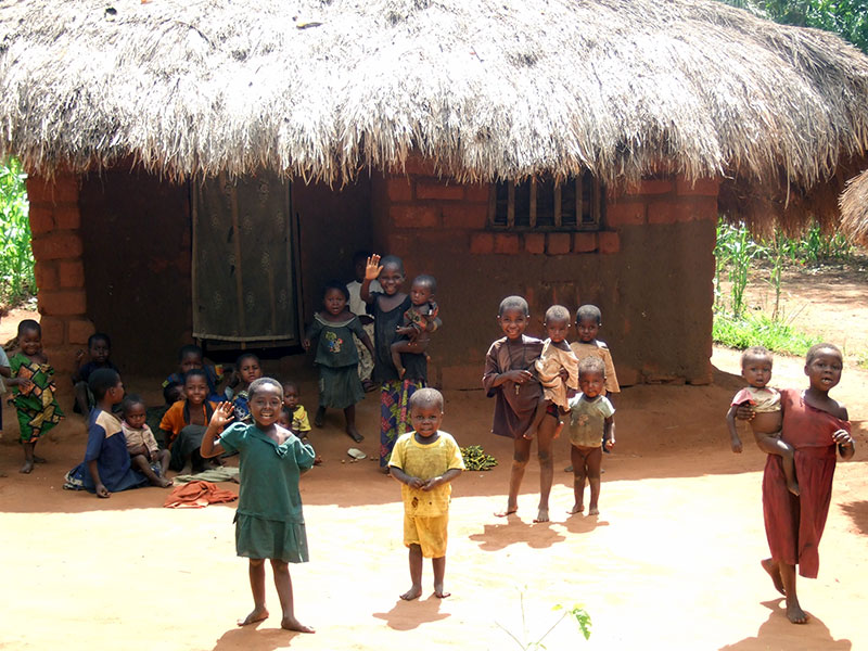 Ausencia de niñez en el Congo