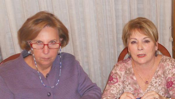 Maite Selas y Angelines Cabrera
